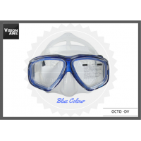 Diving Mask with prescription - All Black